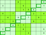 Slash Sudoku grid